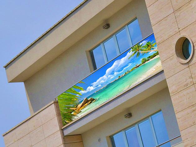 Fotoosłony balkonowe